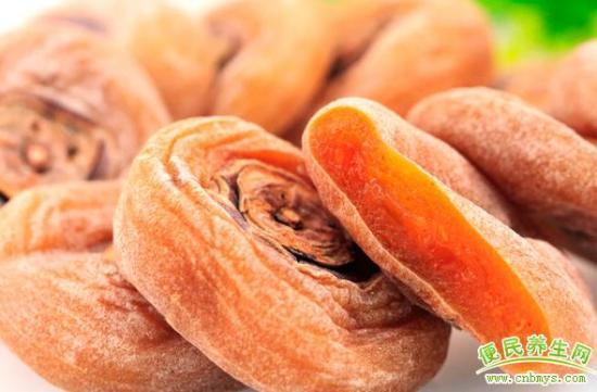柿饼的营养价值与功效